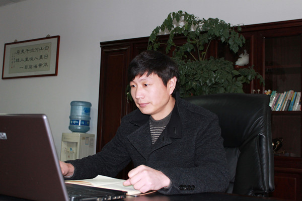 Our Gerneral Manager Wang Jianqing
