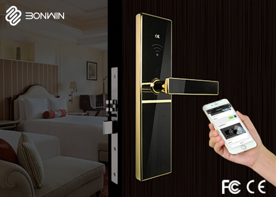 Bonwin Smart Internet Door Lock-Press Alarm