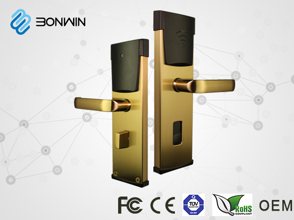 Bonwin Smart Card Door Lock's Open way