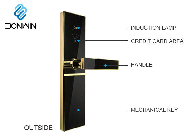 Bonwin Hotel Electric Door Lock's New Look