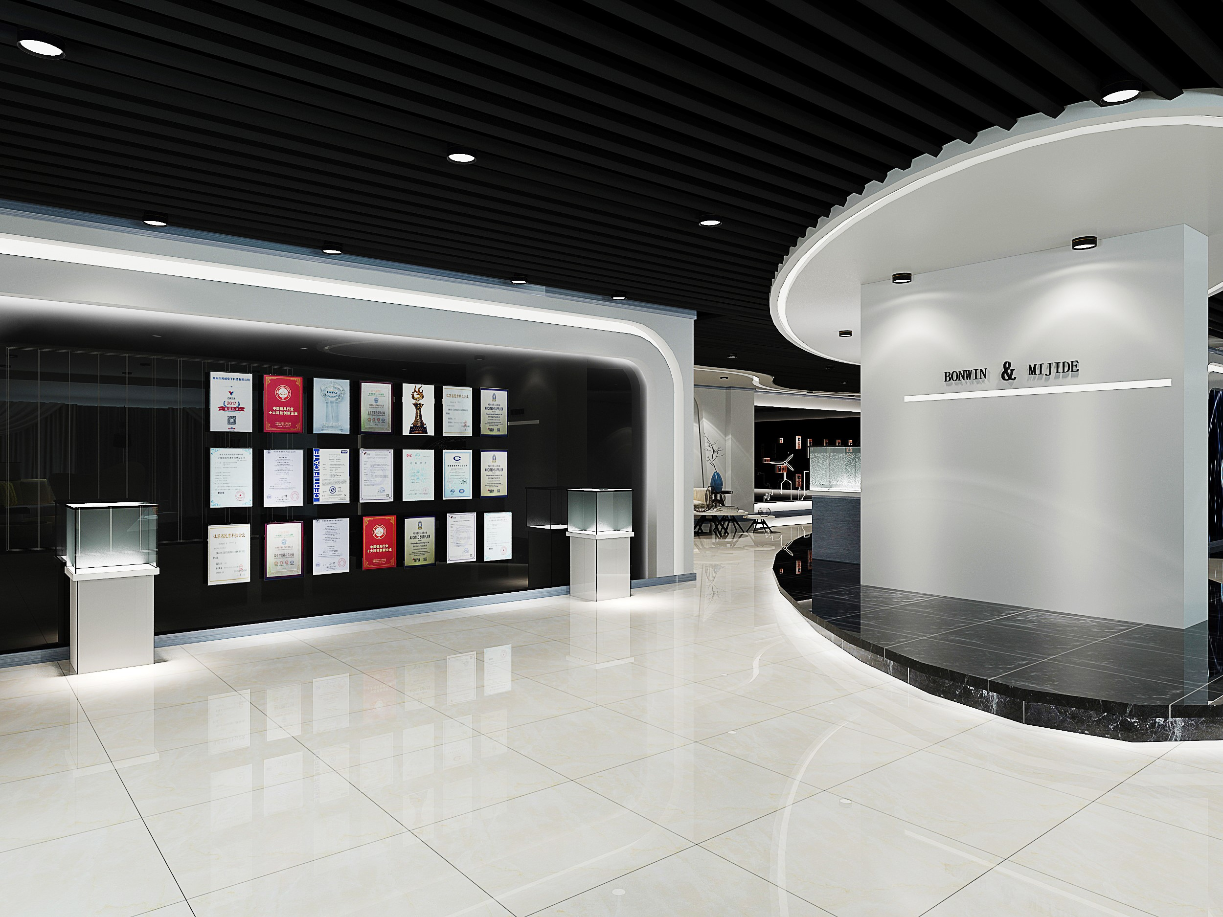 Bonwin Hotel Lock's New Showroom Is About To Meet You