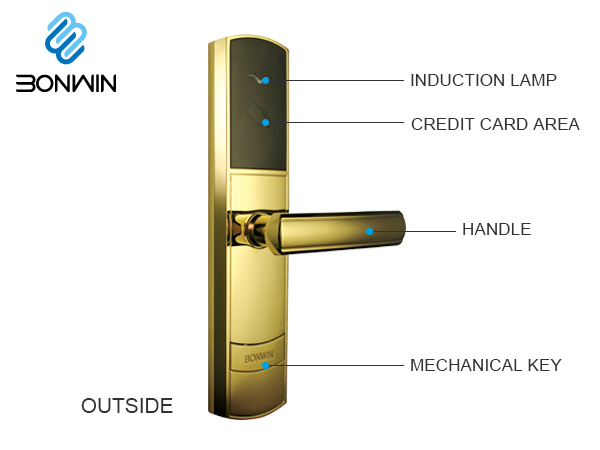 Bonwin Hotel Electronic door lock G