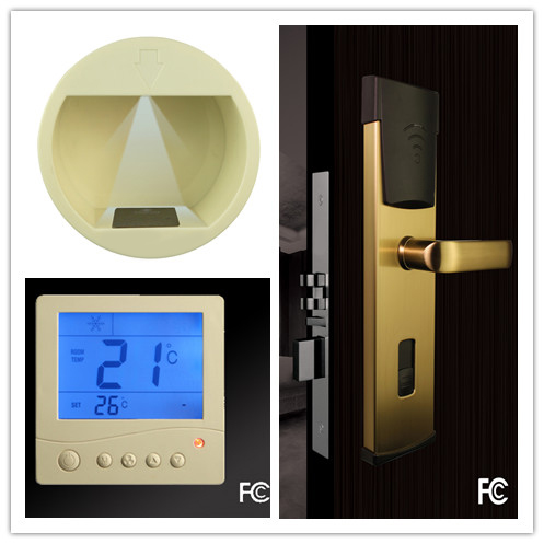 Lock, identification switch and temperature control switch